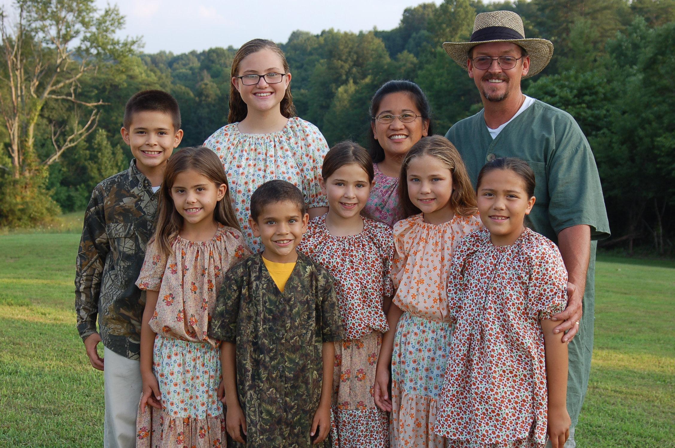 L to R: Daniel, Hannah, Jenna, Seth, Caitlin, Nida, Sarah, Victoria, John