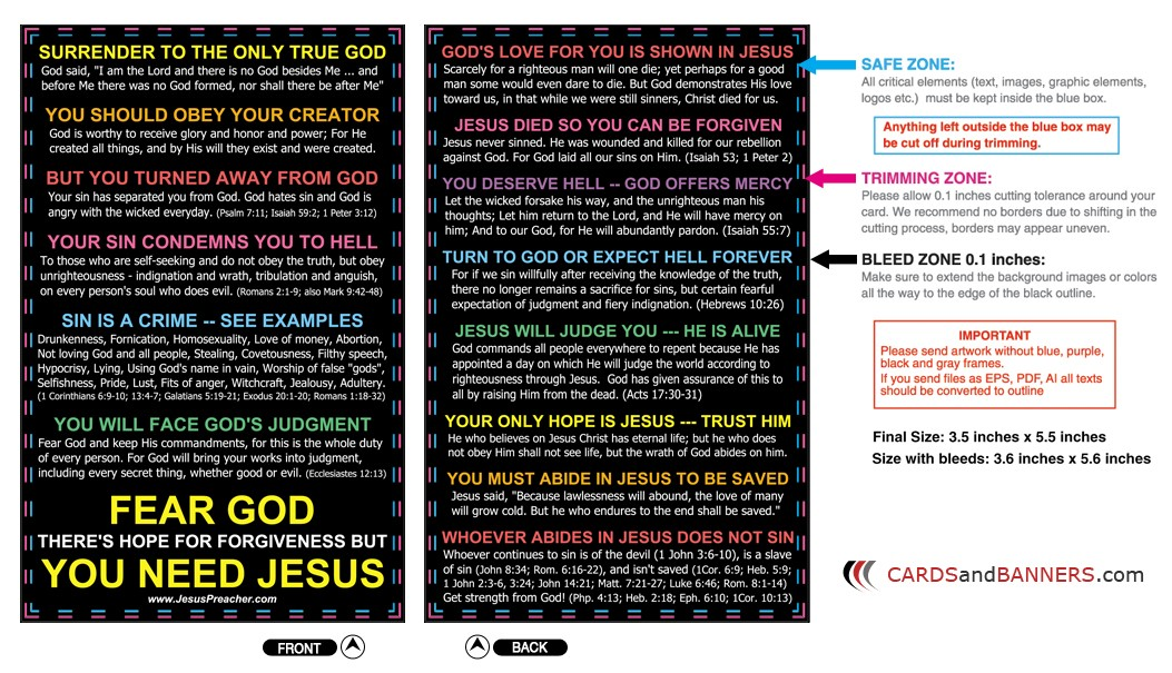 graphic about Printable Gospel Tract named No cost Gospel Tract Down load, And many others. Jesus Preacher