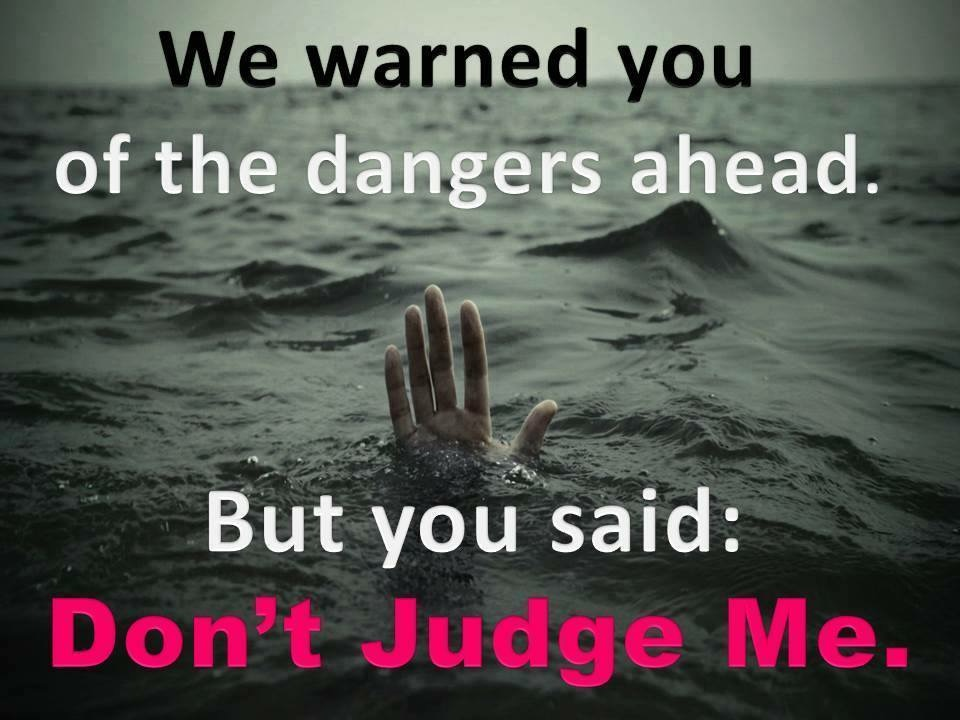 Go Ahead And Judge Me Quotes: Can Christians Judge? By John McGlone
